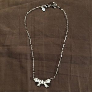 AE Bow Costume Necklace